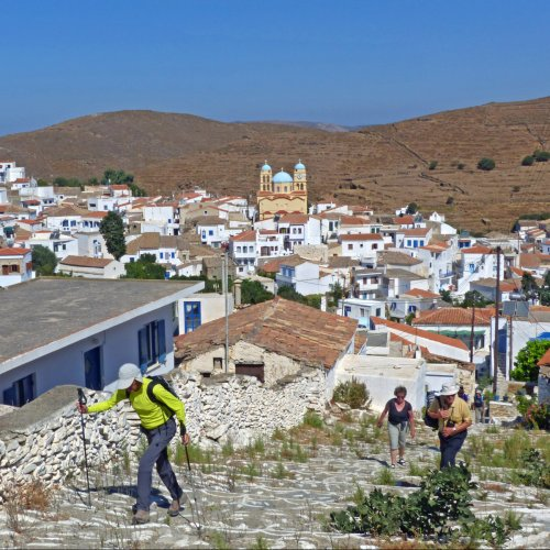 Kythnos walking holidays Unspoiled Cycladic beauty near Athens